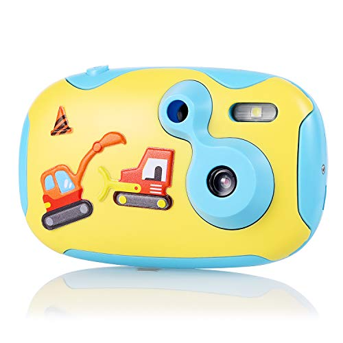 Digital Camera for Kids, OHPA 1.44 inch HD Mini Kids Camera Educational Toys Camcorder, Toddler  Camera with 2 DIY Replaceable Covers for Boys Girls for Boys Girls (Blue) from OHPA