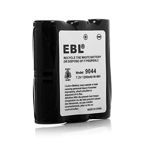 - EBL Motorola HNN9044 HNN9044A 7.2V 1200mAh Ni-MH Two-Way Radio Batteries Replacement Battery for Motorola HNN9056 HNN9056A P10 P50 P60 SP10 SP50 HT10