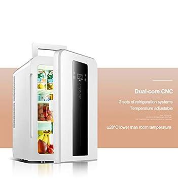 YFDZZSP Refrigerador portátil con congelador para automóvil CNC ...