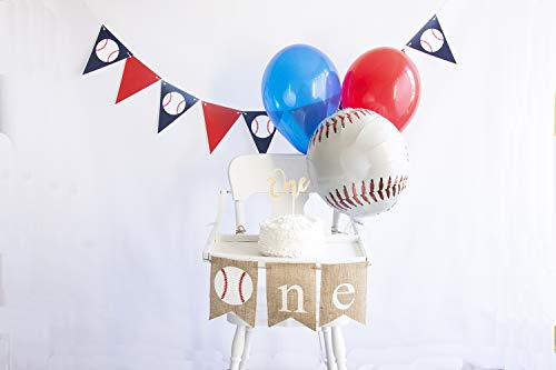 Baseball First Birthday Party Pack | Baseball Party Smash Cake Kit | Baseball Party ()