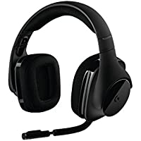 Logitech G533 ELITE Over-Ear USB Wireless Bluetooth Gaming Headphones (Black)