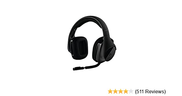 Amazon.com: Logitech G533 Wireless Gaming Headset – DTS 7.1 Surround Sound – Pro-G Audio Drivers: Computers & Accessories
