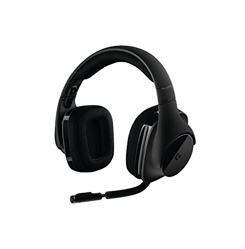 Logitech G533 Wireless Gaming Headset - DTS 7.1 Surround Sound - Pro-G Audio Drivers (Best Gaming Computer Under 100)
