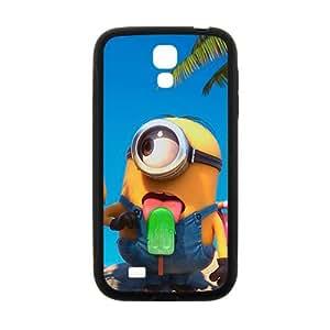 Happy Cute naughty horarios de minions Cell Phone Case for Samsung Galaxy S4