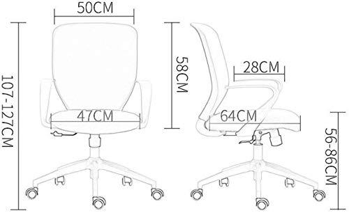 Barstolar Xiuyun svängbar stol – hög rygg verkställande stol – kontorsstol spelstol med justerbar höjd lämplig för familjestudier kontor