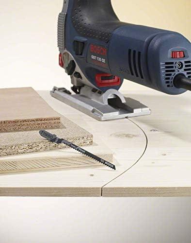 Amazon Prime - Bosch Professional 10tlg. Stichsägeblatt Set Basic (für Holz und Metal, Zubehör Stichsäge) für 7,79€