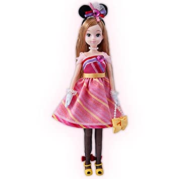 aae69b9cfa5967 ディズニー ファッションドール ミニーマウス 人形 フィギュア 女の子 ディズニー お土産 東京ディズニーリゾート35周年