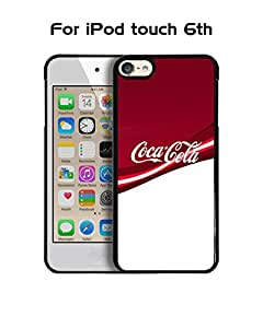 IPod Touch 6th Funda Case Brand Logo Coca-Cola -Drink Solid Anti Slip Customized Impact Resistant Ultra Slim Compatible with IPod Touch 6th