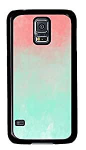 Samsung S5 case leather cases Cute Ombre Best PC Black Custom Samsung Galaxy S5 Case Cover