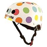 Kiddimoto Kids Helmet – Pastel Dotty Small Review