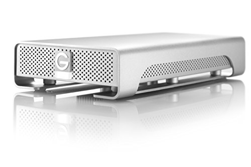 G-Technology G-DRIVE 2TB External Hard Drive w/ eSATA, USB 2.0, Firewire 400, Firewire 800 Interfaces 0G00203 (Renewed)