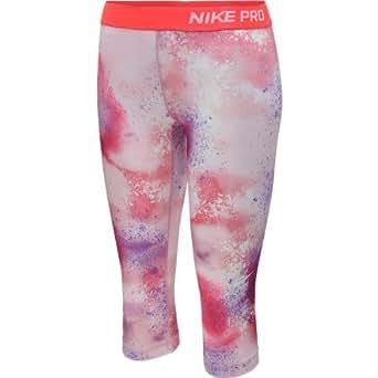 Nike Women's Pro Core Splatter Fitted Capri Pant (X-LARGE)