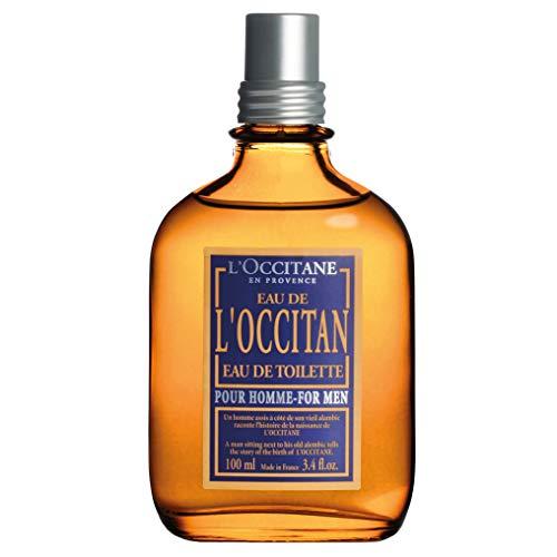 L'Occitane Fresh L'Occitan Eau de Toilette for Men, 3.4 Fluid Ounce