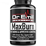 Dr. Emil MaxBurn Thermogenic Fat Burner for Men & Women - Weight Loss Supplement, Metabolism Booster & Appetite Suppressant (60 Capsules)