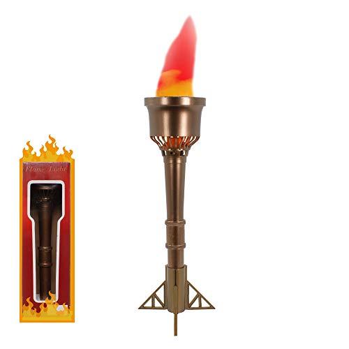 Fun Central LED Flame Light Torch - Olympic Theme Decorations (Best Olympic Torch Lighting)