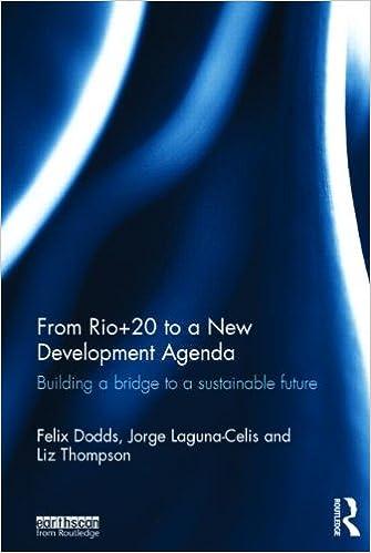 From Rio+20 to a New Development Agenda: Building a Bridge ...
