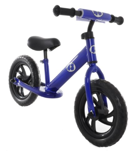 Vilano Rally Balance Bike Training No Pedal Push Bicycle, Blue
