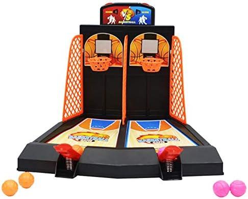 Mini Juguetes De Baloncesto De Escritorio, Juguetes Educativos, Juegos De Mesa para 2 Jugadores, Regalos para Niños Adultos: Ayuda A Reducir El Estrés: Amazon.es: Hogar
