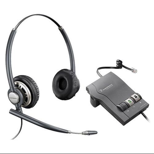 Plantronics Corded Amplifier - PLANTRONICS 78714-01 Encore Pro HW301N Plantronics 78714-01 EncorePro HW301N with M22 Amplifier Stereo Corded