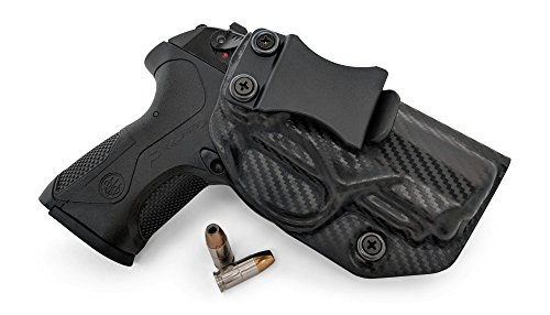 Concealment Express IWB KYDEX Gun Holster: fits Beretta PX4 Storm Compact 9/40 - Custom Molded Fit - US Made - Inside Waistband Concealed Carry Holster - Adj. Cant & Retention