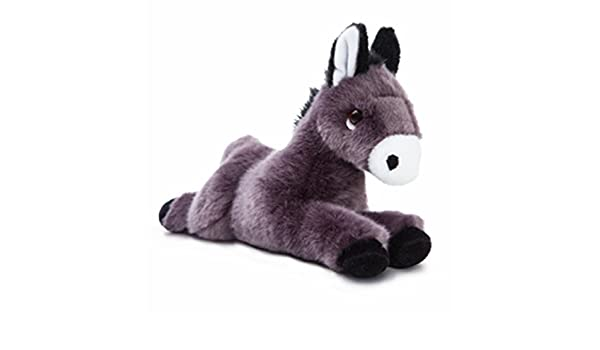 Amazon.com: Aurora World Luv to Cuddle Donkey Plush Toy (Black/White) by Aurora: Toys & Games