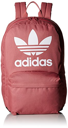 (adidas Originals Big Logo Backpack, Med Pink, One Size)
