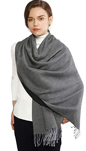 Winter Cashmere Wool Scarf Pashm...
