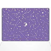 "The Decal Guru Constellations Decal Vinyl Sticker, 13"" MacBook Pro (2015 & Older Models), Lavender (1384-MAC-13P-LAV)"