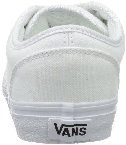 Vans Y ATWOOD  (CANVAS) WHITE/ - Zapatillas de lona infantil Canvas White/ / Hn 7