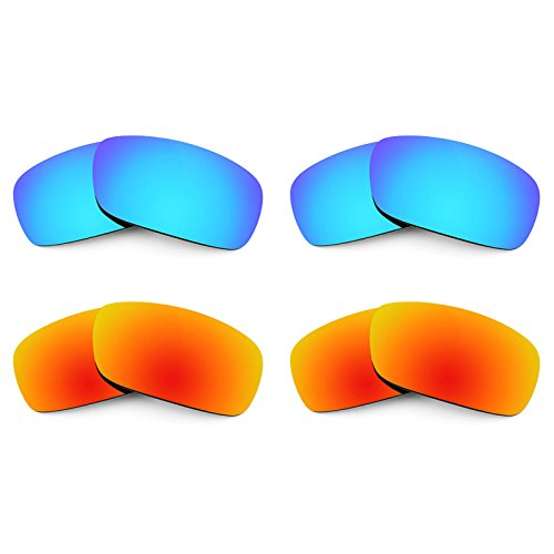 Revant Replacement Lenses for Arnette Infamous AN4076 4 Pair Combo Pack ()