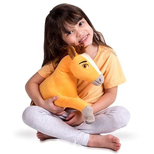 Franco Kids Bedding Super Soft Plush Snuggle Cuddle Pillow, Spirit Riding Free Horse (Pet Horse Pillow)
