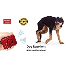 Ultrasonic Dog Repellent Sonic Pet Deterrent Ultrasound Animal Chaser Repeller Training trainer Bark Stop Control Device Rechargeable