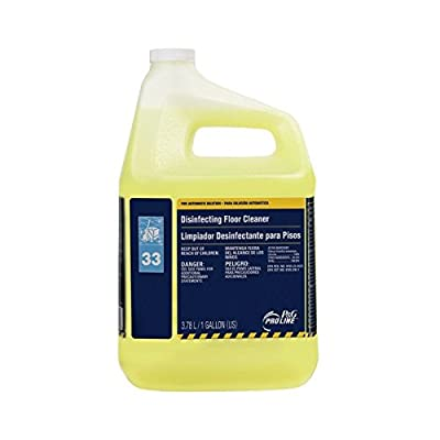 Proctor & Gamble Pro Line Disinfectant Floor Cleaner, 33, Gallons,4 Per Case