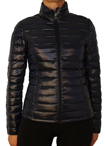 1623 Ladies ultralight transition, winter quilted down jacket beige, blue, brown khaki, black, S, M, L, XL, XXL! Dark Blue