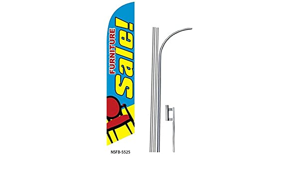 4 four ABIERTO 15 Swooper #8 Feather Flags KIT