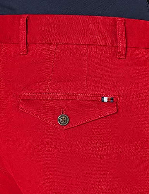 Tommy Hilfiger De Brooklyn Structure Short Flex Loose Fit dżinsy męskie: Odzież