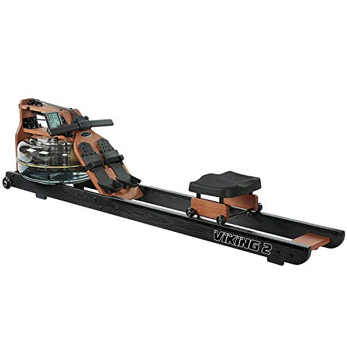 First Degree Fitness Indoor Water Rower with Adjustable Resistance
