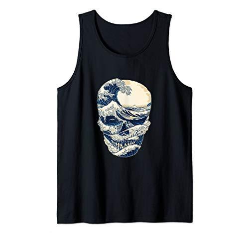Funny Skull Skeleton Sea Day of The Dead For Men Women Tank Top