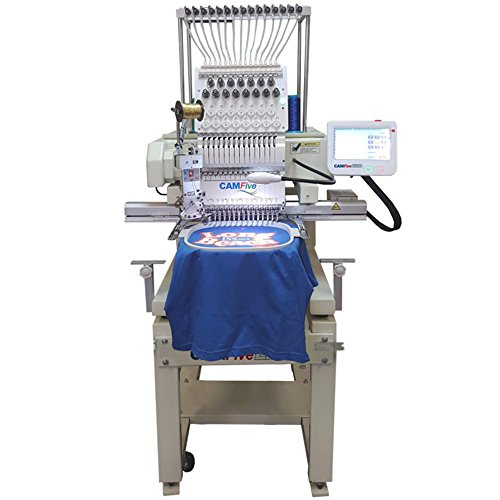 Head Emb - CAMFive EMB HT1501 Single Head Commercial Embroidery Machine