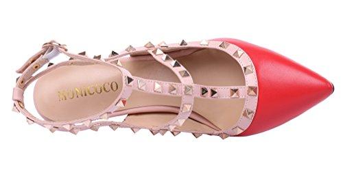 MONICOCO 2015 - Zapatos de vestir para mujer Rot Pu