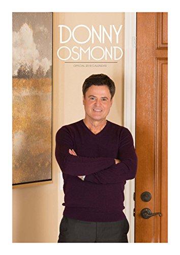 Donny Osmond Official 2018 Calendar - A3 Poster Format