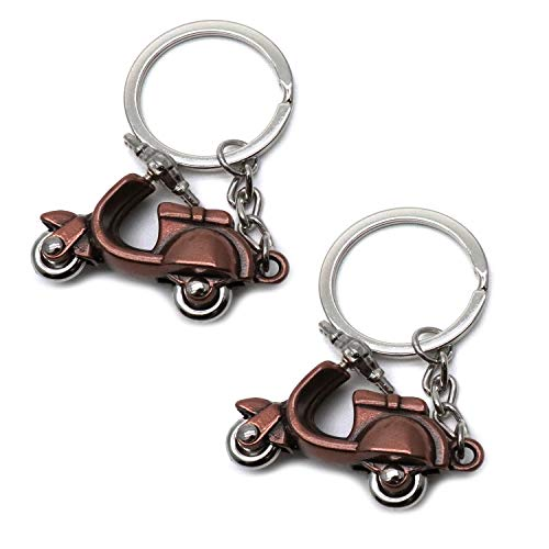 D Motorcycle Keyring Classic Keychain Pendant Metal Key Ring Chain ()