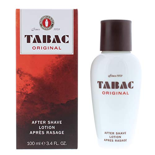Tabac Original Aftershave for Men by Maurer & Wirtz, 3.4 Ounce