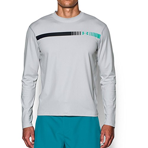 언더아머 Under Armour Mens UA Threadborne Rashguard Long Sleeve
