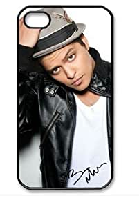 Bruno mars's signed Iphone 4/4s Iphone Cases Cover
