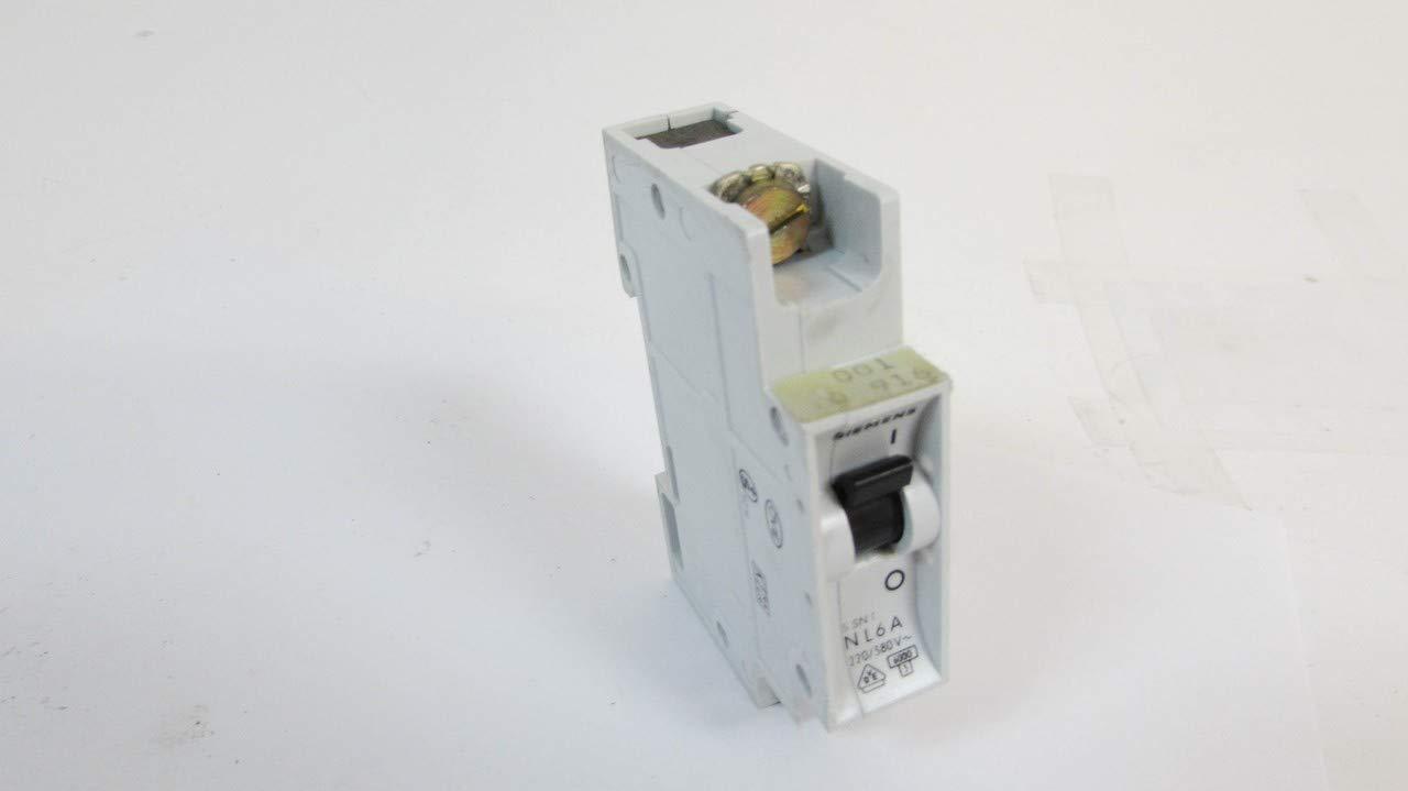 SIEMENS NL6A 1P 6A 220/380V Circuit Breaker: Amazon.com: Industrial & Scientific