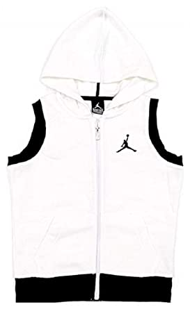 9109429b12eb31 Amazon.com  Nike Air Jordan Boys Zippered Vest  Clothing