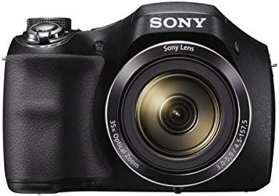 Sony Cyber-shot DSC-H300 20.1 MP Digital Camera – Black (Renewed)