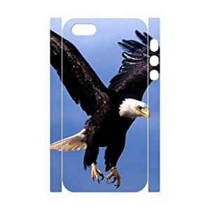 Bald Eagle Personalized 3D Cover Case for Iphone 5,5S,customized phone case ygtg579534