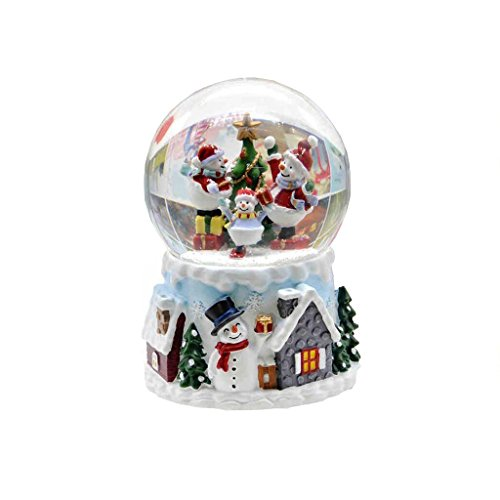 FX Music Box Creative Fashion Birthday Present Children's Day Gift Crystal Ball Snowman for $<!--$90.63-->